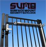 Lockey SUMO GL2 Surface Mount Gate Lock Marine Grade