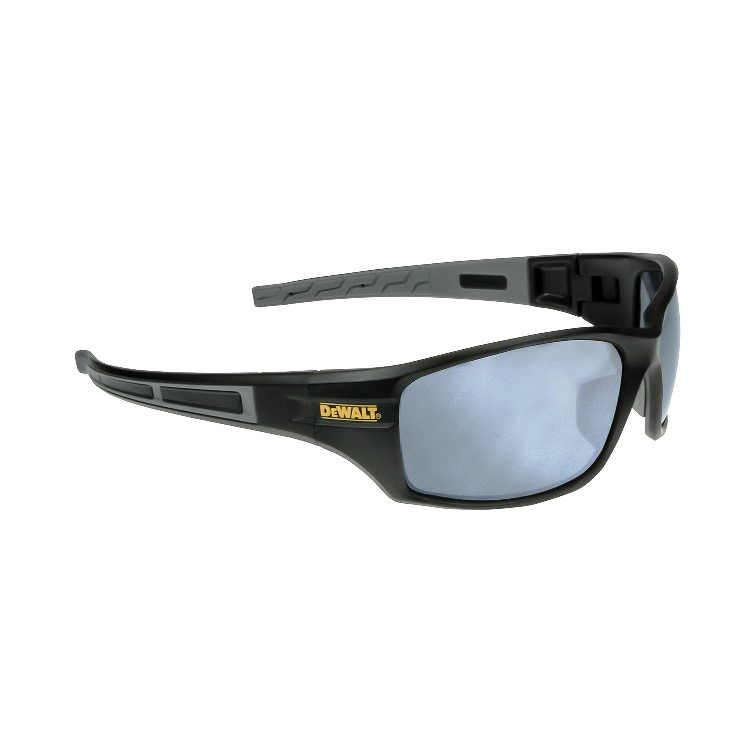 DeWalt Safety Glasses Auger Silver Mirror Lens DPG101-6