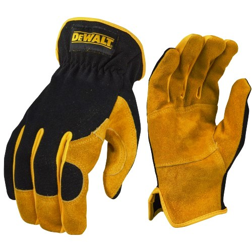 DeWalt DPG216 Gloves Leather Hybrid Driver
