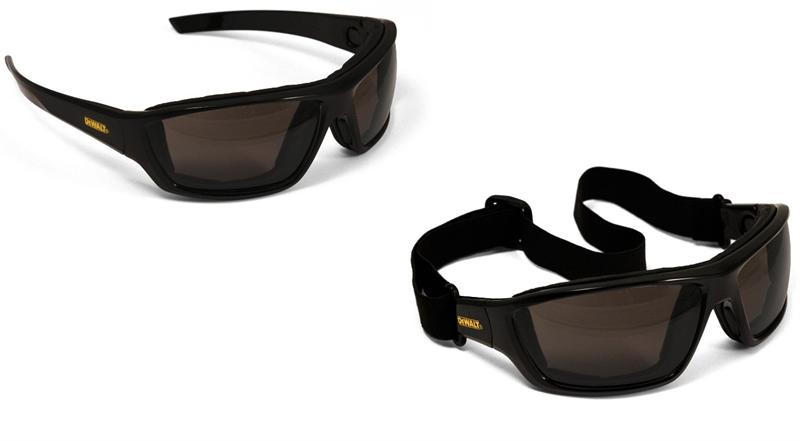 DeWalt Safety Goggles Glasses Converter Smoke Anti-Fog Lens DPG83-21