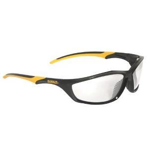 DeWalt Safety Glasses Router Clear Anti-Fog Lens Model DPG96-11D