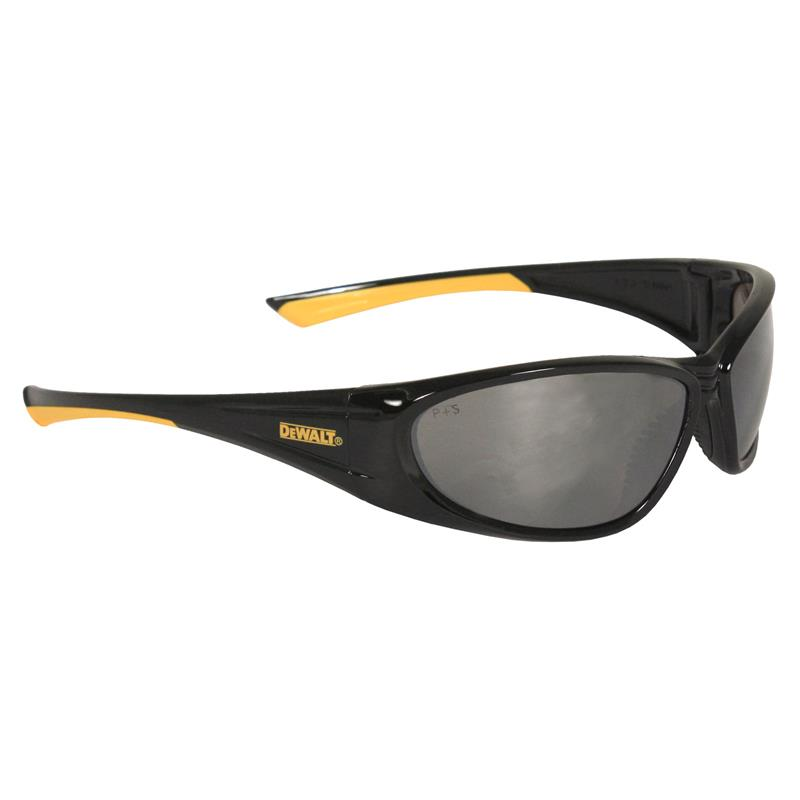 DeWalt Safety Glasses Gable Silver Mirror Lens DPG98-6