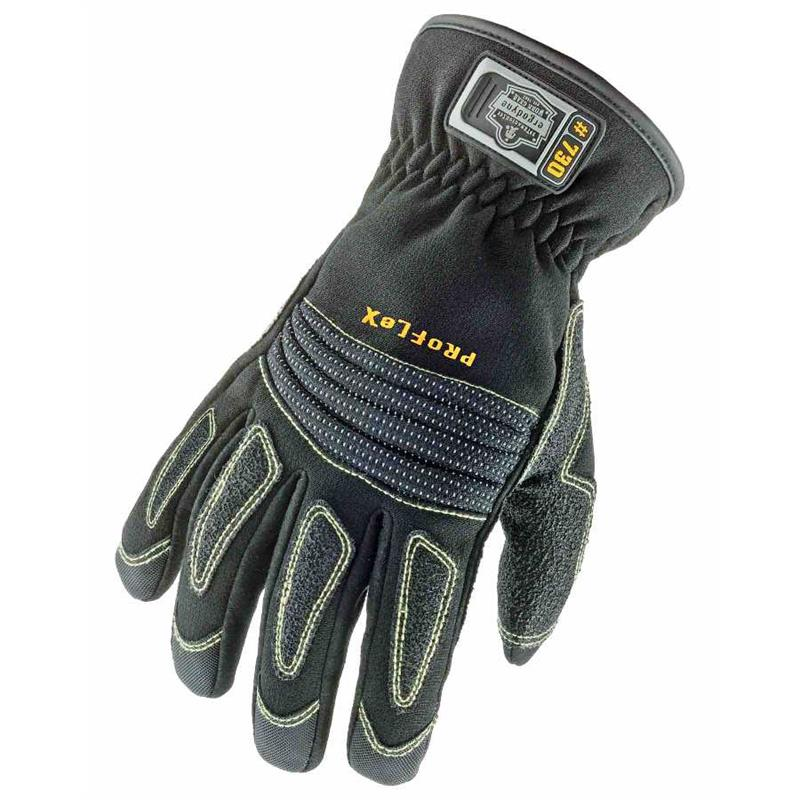 Ergodyne Proflex 730 Fire And Rescue Extrication Gloves Black
