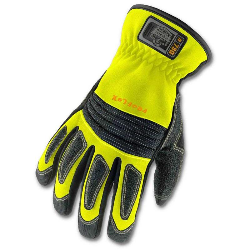 Ergodyne Proflex 730 Fire And Rescue Gloves Lime