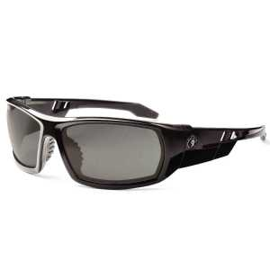 Ergodyne Skullerz Odin 50031 Safety Glasses Polarized Smoke Lens