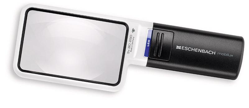 8e57ca64ea69 Eschenbach 1512-2 Hand Held Illuminated Magnifier Mobilux LED 3x