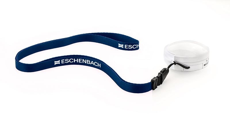 Eschenbach 1520-94 Mobilent LED Folding Pocket Magnifier 4x