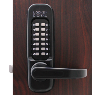 Lockey 1150DC Keyless Mechanical Digital Double Sided Combination