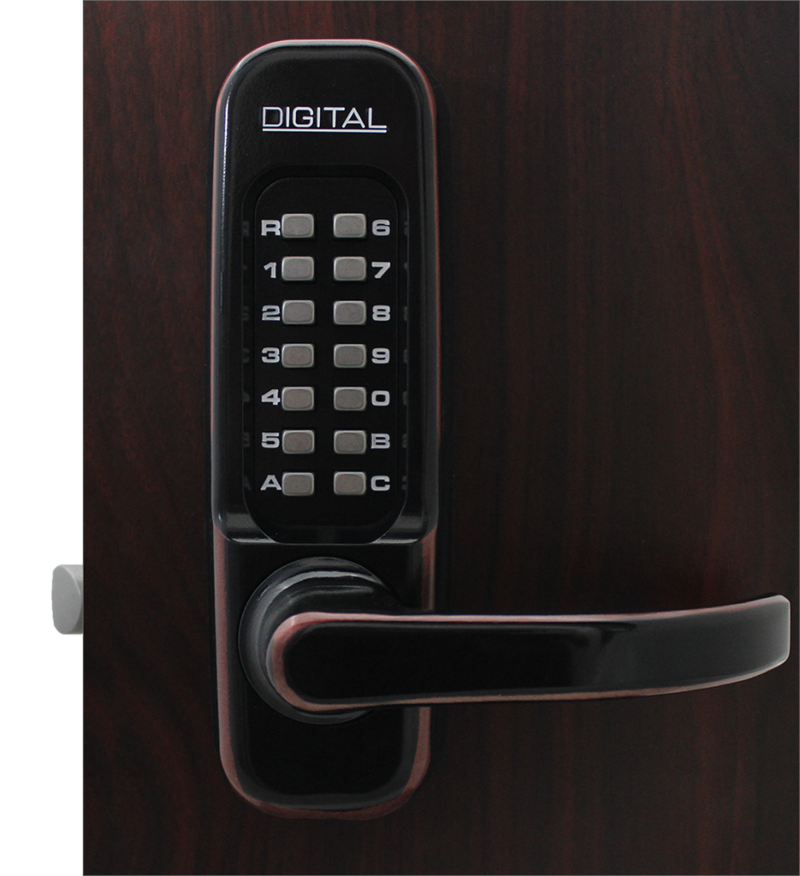Lockey 1150DC MG Keyless Mechanical Digital Double Sided