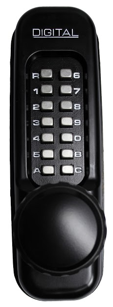 Lockey 1600DC Keyless Mechanical Digital Double Sided