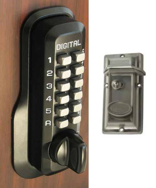 Lockey M213 Keyless Mechanical Digital Security Night Latch Door Lock