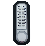 Lockey 2830DC Keyless Double Sided Mechanical Digital Spring Latch Knob Lock