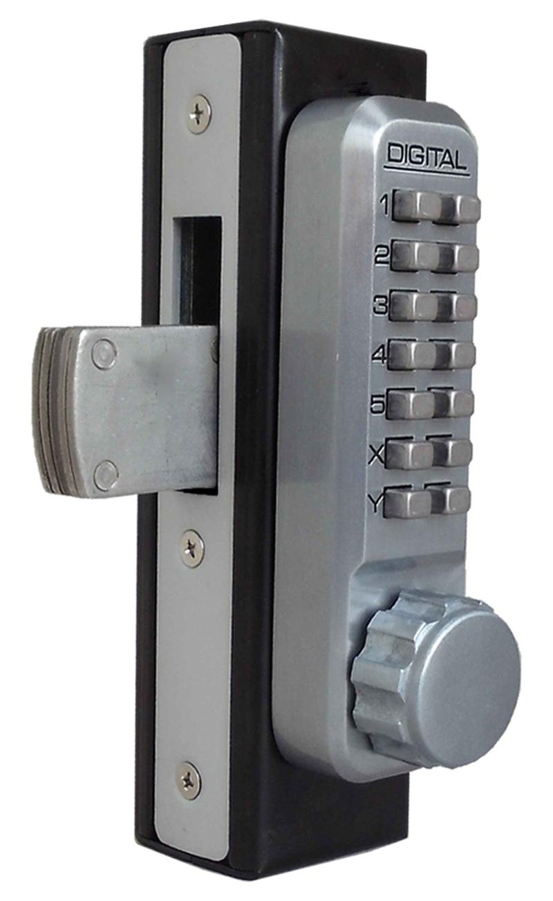 Lockey 2900 DC Keyless Mechanical Digital Mortised Deadbolt Door Lock