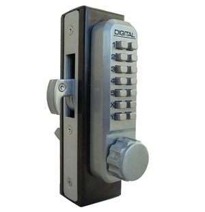 Lockey 2950 MG Keyless Mechanical Digital Mortised Hook Bolt Door Lock