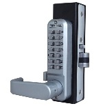 Lockey 2985DC MG Keyless Mechanical Digital Adams Rite Style Latch Double Sided Door Lock