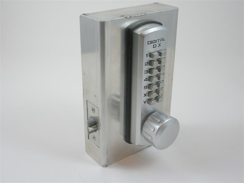 Lockey 3230 Keyless Mechanical Digital Spring Latch Door Lock