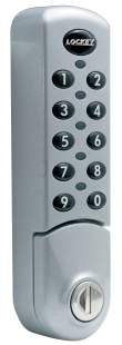 Lockey EC-780 Keyless Electronic Vertical Cabinet or Locker Lock