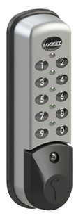 Lockey EC-781 Keyless Electronic Wet Area Cabinet or Locker Lock