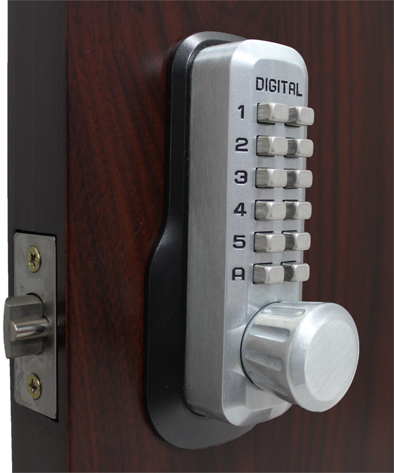 Lockey M230 MG Keyless Mechanical Digital Springlatch Door Lock