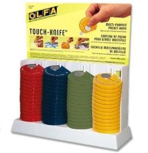OLFA Touch Knife Display TK-4/60 Model 9584