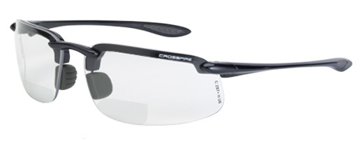 Crossfire Safety Glasses ES4 216420 Bifocal 2.0x Readers