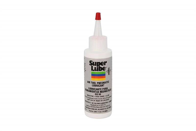 Super Lube Air Tool Oil 12004 4oz Bottle
