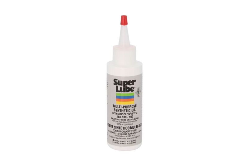 Super Lube Oil With PTFE Teflon 51004 4oz Bottle