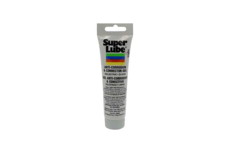 Super Lube Anti-Corrosion And Connector Gel 82003 3oz Tube